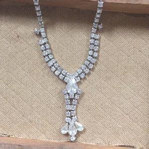 Jewelry - Vintage 1950's Kramer Rhinestone Necklace